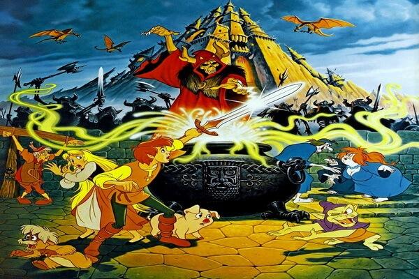 Лучшие мультфильмы на Хэллоуин - Чёрный котёл (1985)
