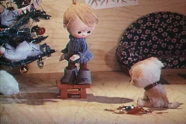 Лучшие советские новогодние мультфильмы - «Тимошкина ёлка» (1966)