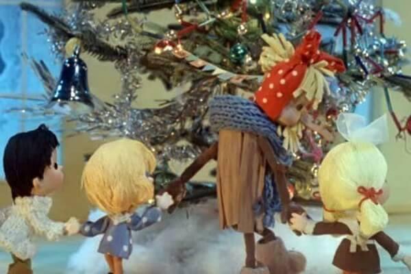 Лучшие советские новогодние мультфильмы - Новогодняя сказка (1972)