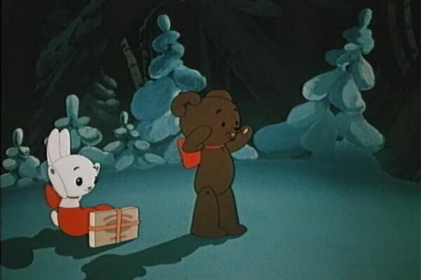 Лучшие советские новогодние мультики - «Когда зажигаются ёлки» (1950)