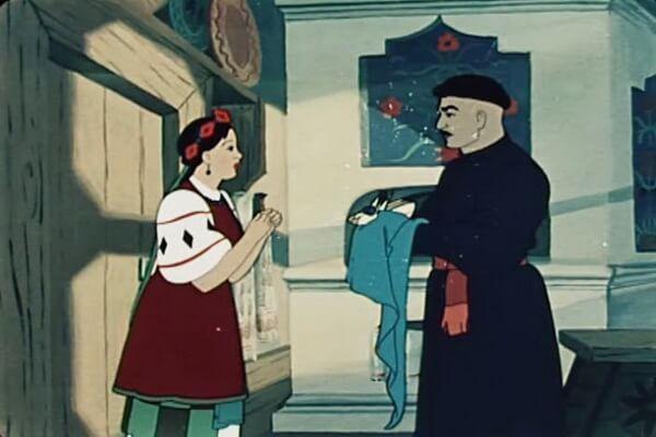 Лучшие советские новогодние мультфильмы - «Ночь перед Рождеством» (1951)