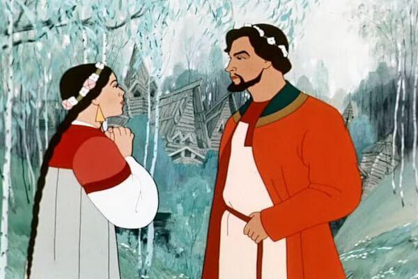 Лучшие советские новогодние мультики - «Снегурочка» (1952)