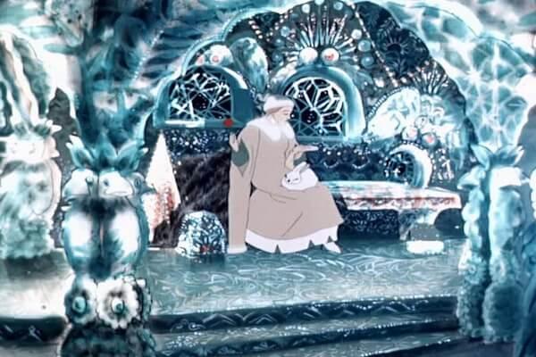 Лучшие советские новогодние мультфильмы - «Снегурочка» (1952)