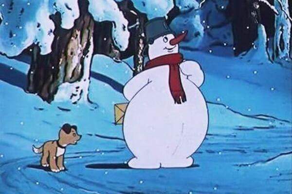 Лучшие советские новогодние мультики - «Снеговик-почтовик» (1955)