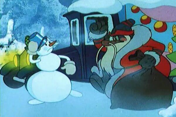 Лучшие советские новогодние мультфильмы - «Дед Мороз и Серый Волк» (1978)