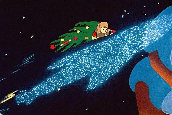 Лучшие советские новогодние мультфильмы - «Новогоднее путешествие» (1959)