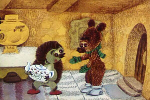 Лучшие советские новогодние мультфильмы - «Как Ёжик и Медвежонок Новый год встречали» (1975)