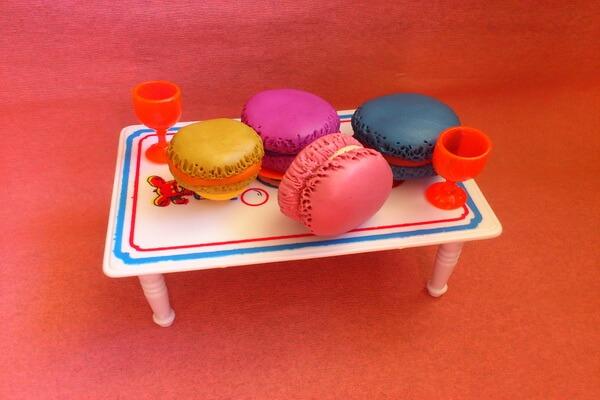 Макаруны из пластилина - пошаговый мастер-класс по лепке кукольной еды