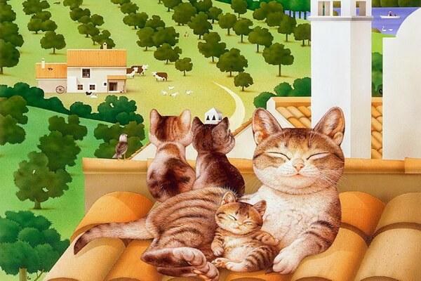 Картины Макото Мурамацу