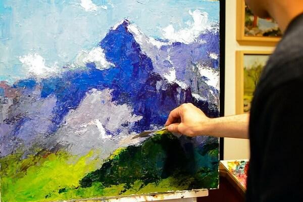 Техника мастихиновой живописи - секреты художников