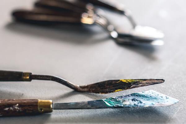 Мастихиновая живопись - основные инструменты
