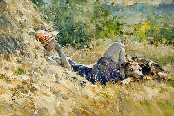 Картины русских художников мастихином - Алексей Зайцев