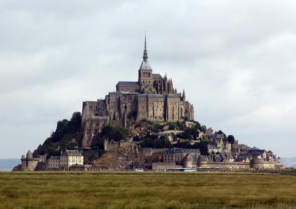 Замки Франции - Мон-Сен-Мишель