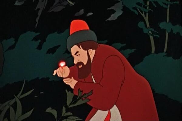 Персонажи мультфильма «Аленький цветочек» (1952) и актёры, которые их озвучивали