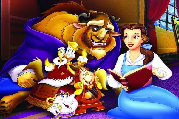 Персонажи мультфильма «Красавица и чудовище» Диснея (1991)