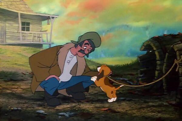 Мультфильм «Лис и пёс» (1981)