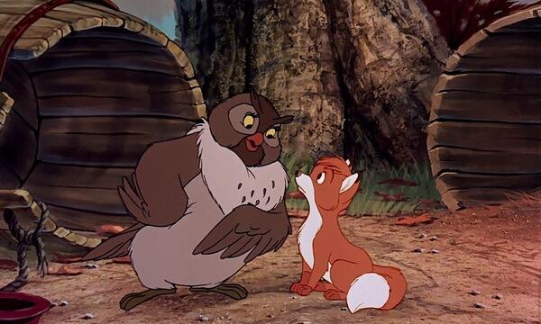 Интересные факты о мультфильме «Лис и пёс» (1981)