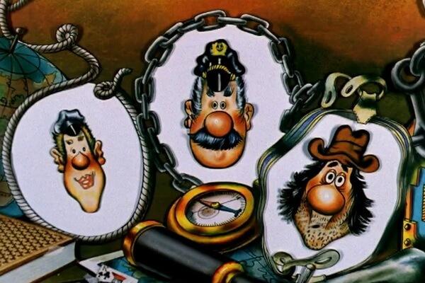 Кто озвучивал персонажей мультфильма про капитана Врунгеля