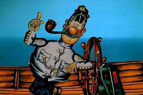 История создания мультфильма про капитана Врунгеля