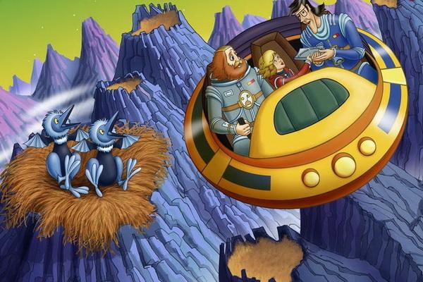 Интересные советские мультфильмы - «Тайна третьей планеты»