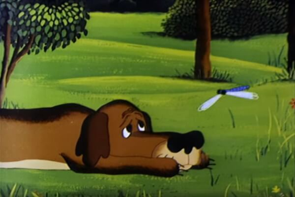 Герои мультфильма «Жил-был пёс»