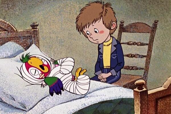 Интересные факты про мультфильм «Возвращение блудного попугая»