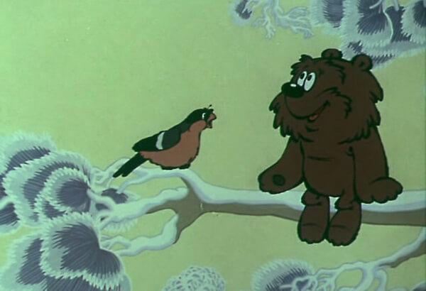 Мультфильмы про Ёжика и Медвежонка - «Зимняя сказка»
