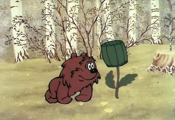 Мультфильмы про Ёжика и Медвежонка - Удивительная бочка