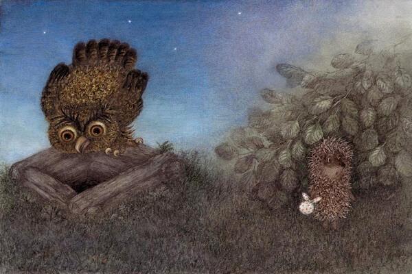 Ёжик в тумане - самый известный мультфильм Юрия Норштейна