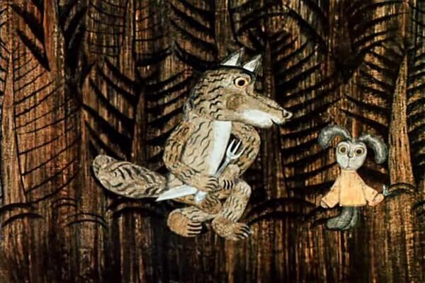Мультфильмы Юрия Норштейна - Лиса и заяц