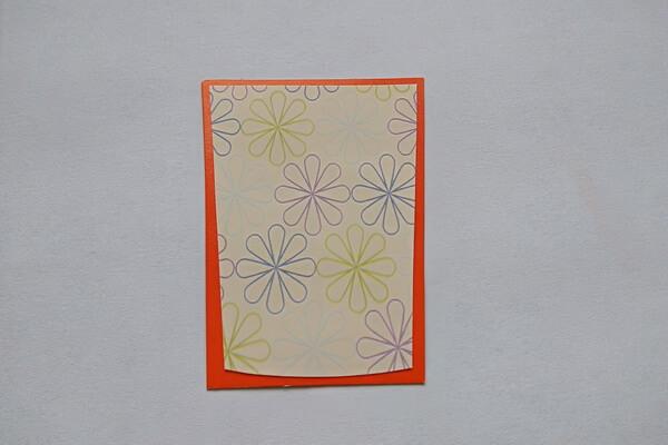 Весенняя открытка своими руками - шаг 8
