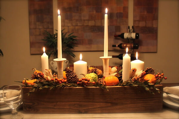 Новогодние композиции со свечами своими руками - интересные идеи и фото для вдохновения