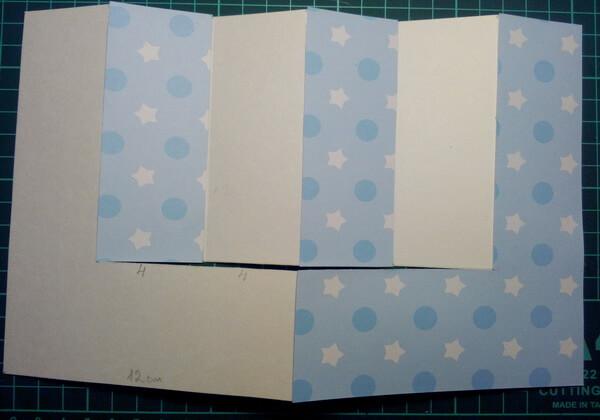 Как сделать объёмную новогоднюю открытку - шаг 5
