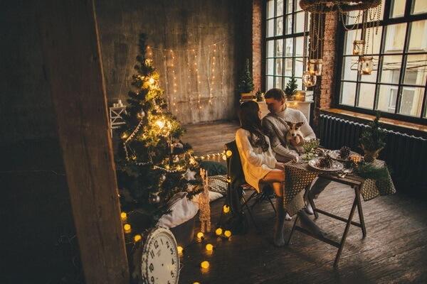 Новогодняя фотосессия в стиле лофт - красивые фото для вдохновения