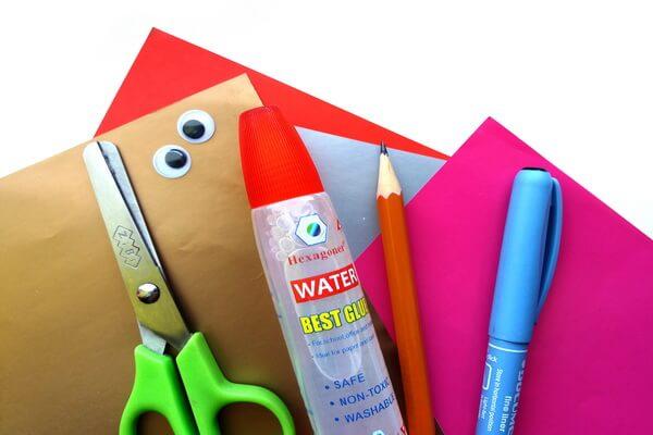 Инструменты и материалы для оригами голова единорога