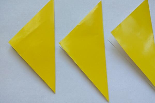 Оригами свинка поэтапно - шаг 2