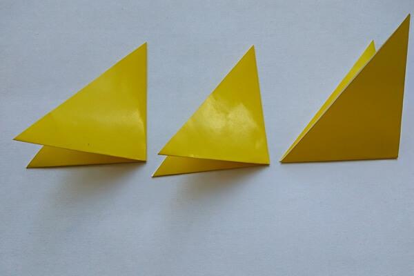Оригами свинка поэтапно - шаг 3