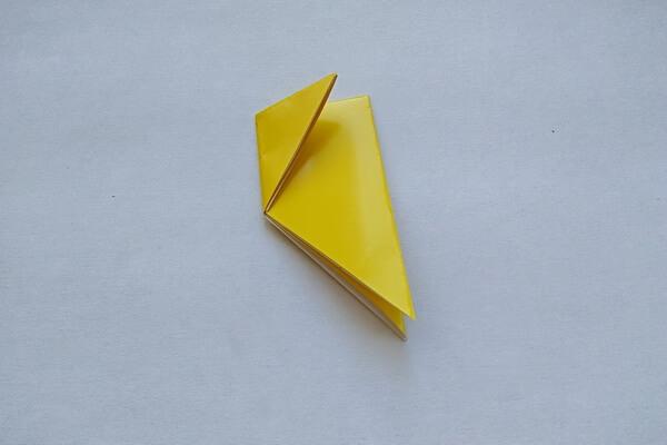 Оригами свинка поэтапно - шаг 4