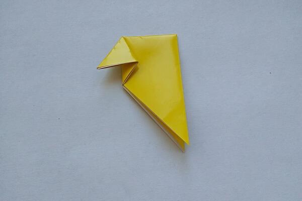 Оригами свинка поэтапно - шаг 5