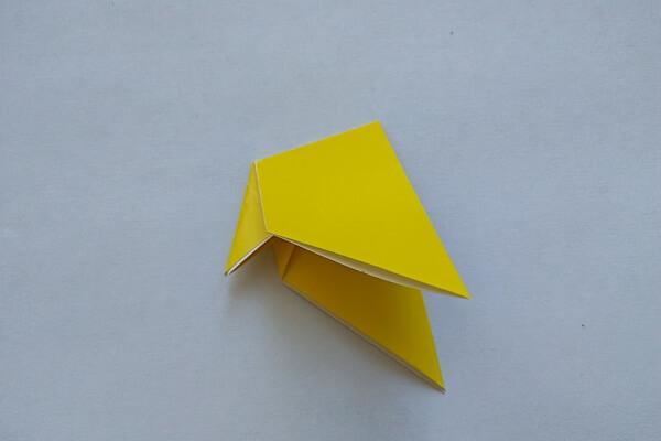 Оригами свинка поэтапно - шаг 6