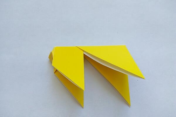 Оригами свинка поэтапно - шаг 7