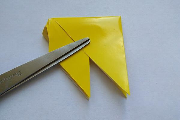 Оригами свинка поэтапно - шаг 8