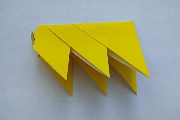 Оригами свинка поэтапно - шаг 9