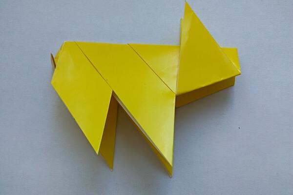 Оригами свинка поэтапно - шаг 10