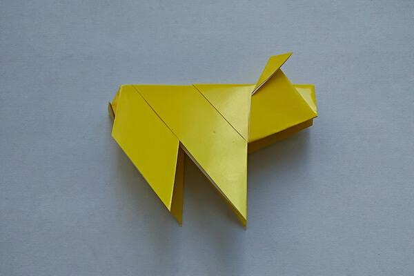 Оригами свинка поэтапно - шаг 11