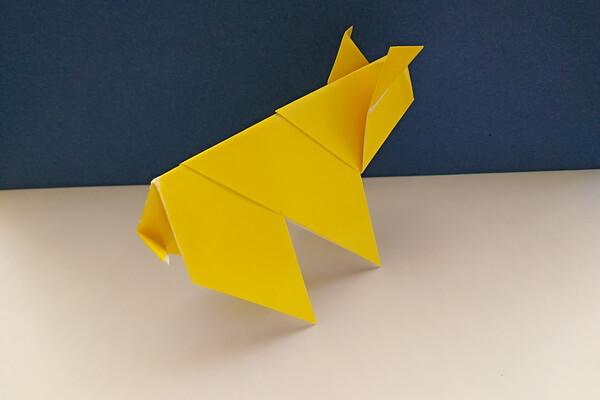 Модульное оригами свинка - пошаговый мастер-класс с поэтапными фото работы