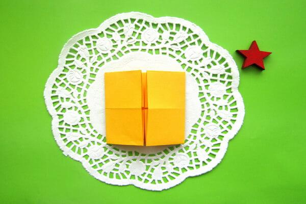 Оригами такса пошагово - шаг 3