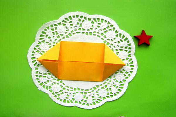 Оригами такса пошагово - шаг 5