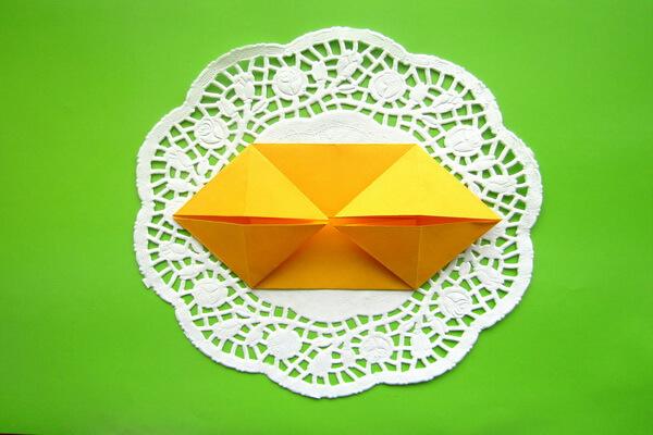 Оригами такса пошагово - шаг 6