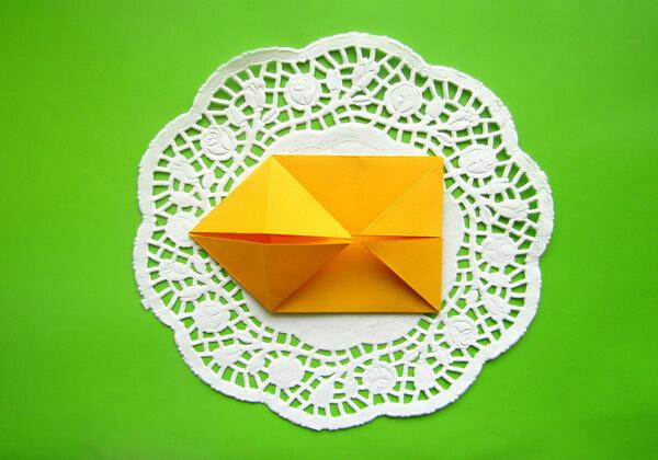 Оригами такса пошагово - шаг 7